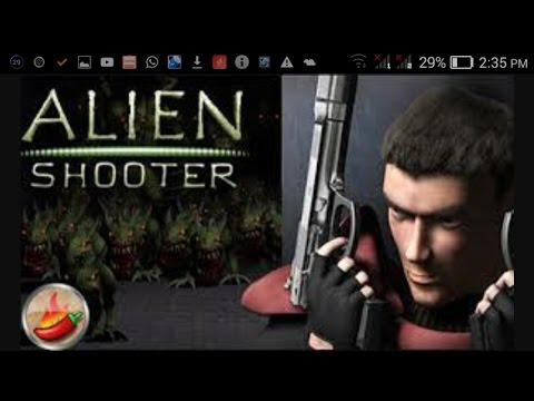 How to download PC game alien shooter in your android only 54 mb