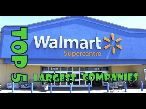 top 5 largest companies in world