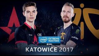 CS:GO - Astralis vs. Fnatic [Inferno] - IEM Katowice 2017 - Group A