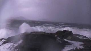 Heavy storm in Norway