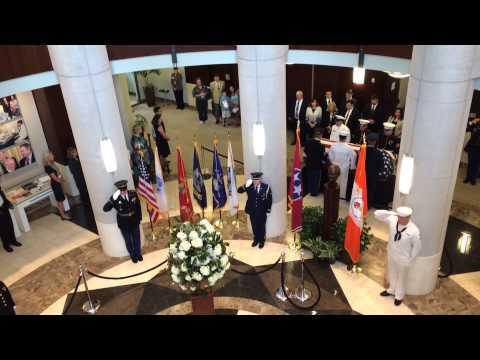 Sen. Howard H. Baker Jr.'s final salute