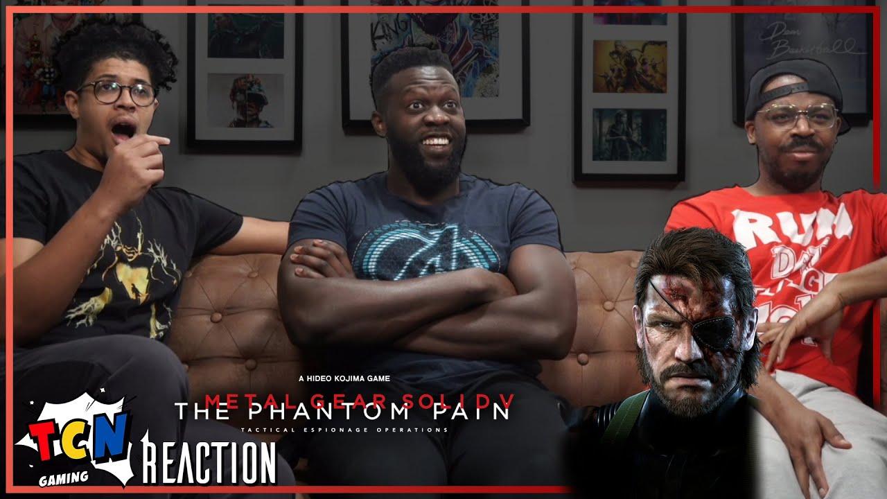 Download Metal Gear Solid 5 E3 Trailer Reaction