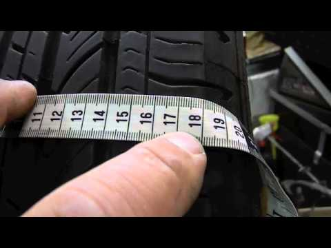 how to measure a tire youtube. Black Bedroom Furniture Sets. Home Design Ideas