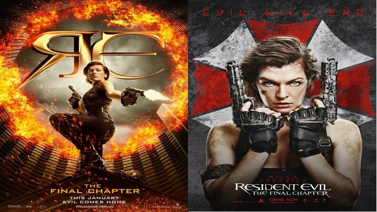 Resident Evil Final Chapter Fan: Resident Evil: The Final Chapter (2017)