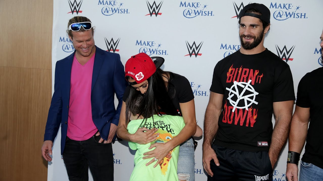 Superstars put smiles on Make-A-Wish kids' faces during ...