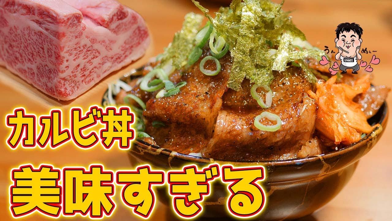 【飯テロ】極上肉のカルビ丼が最高に美味しすぎた【カジュアル食堂 レスト アドル】