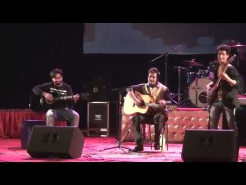 Sajan Preet Laga Ke (Cover) Live at Kennedy Auditorium, AMU.