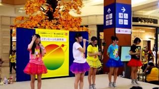 2014年8月31日、イオンモール札幌発寒・すずらん広場にて開催された、ミ...