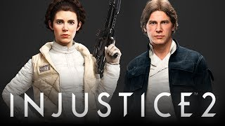 Injustice 2: Star Wars & Jurassic Park Easter Eggs/References! (Injustice 2: Easter Eggs)