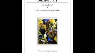 Ramsoe Quartet No 1 - Sheet Music for Brass Quartet