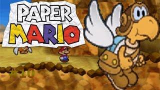 Paper Mario capítulo 10 Ayudando al cartero