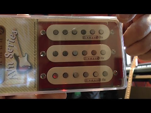Kinman Blues Set Pickups versus Seymour Duncan Everything Axe Pickup Set