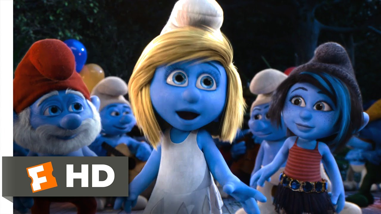 the smurfs 2 (2013) - happy smurfday, smurfette! scene (10/10