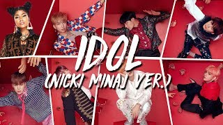 [RUS SUB] BTS - IDOL (feat Nicki Minaj)