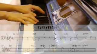 Everything - Misia [piano cover with chords]