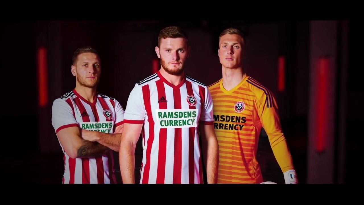 15ed128904c 2018/19 Sheffield United home kit - YouTube
