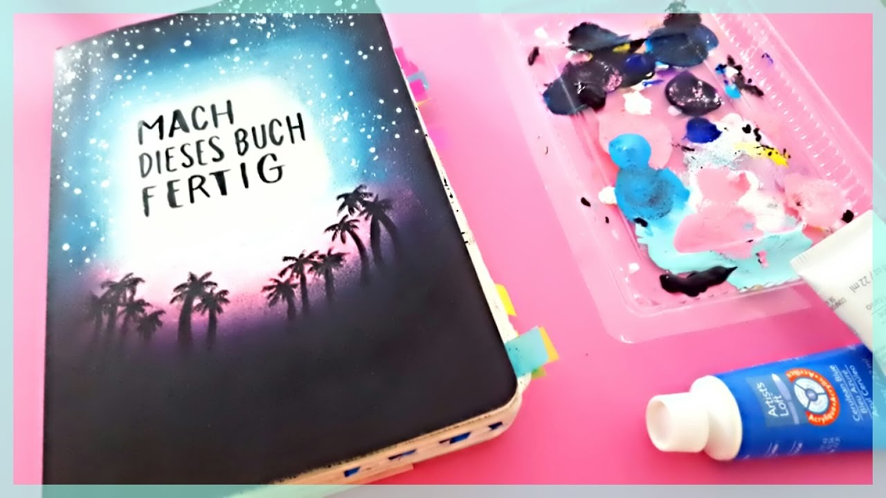diy mach dieses buch fertig umstyling cover up foxy draws youtube. Black Bedroom Furniture Sets. Home Design Ideas