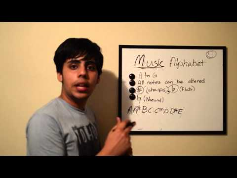Music Theory 101 - Lesson 1 (Musical Alphabet)
