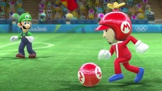 Mario & Sonic at the Rio 2016 Olympic Games - Mario League (Unlocking Gold Mario Costume)