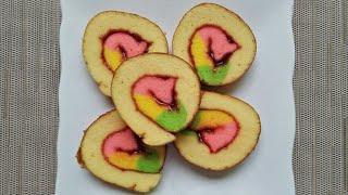 Gambar cover Resep dan Cara Membuat Roll Cake (Bolu Gulung) yang Lembut/Nglenyer