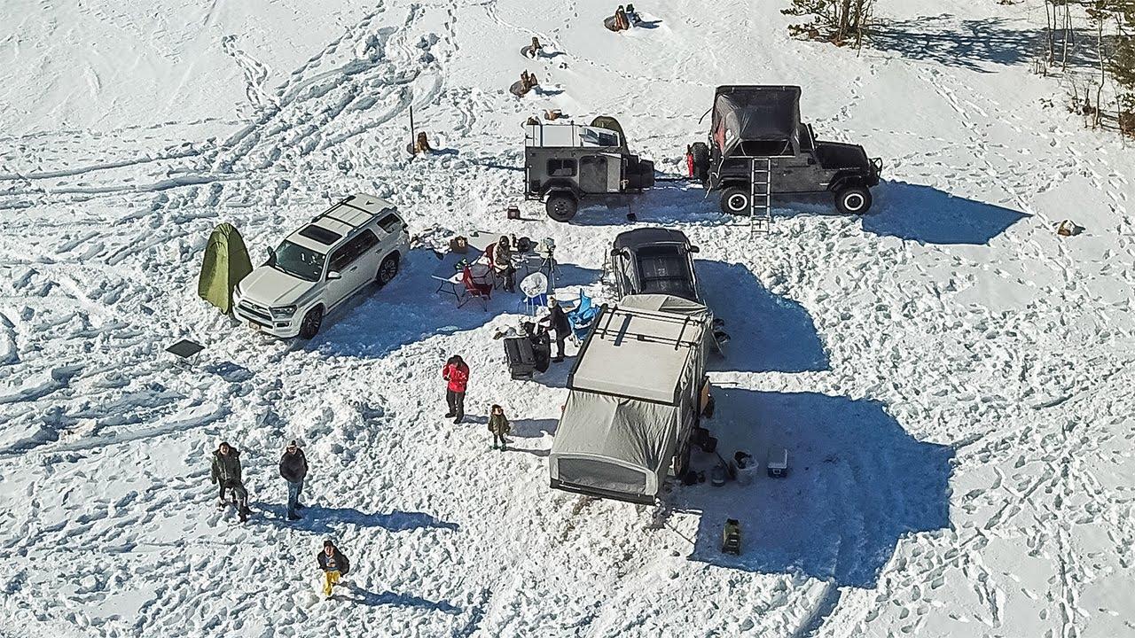 [캠핑] 설원위의 콜로라도 겨울캠핑