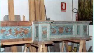 Restauro altare Madonna d'Itria - chiesa della B.V.Assunta, Selargius