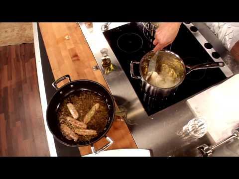 Saure Sardine mit gebackenem Kartoffeltascherl (Alexander Fankhauser)