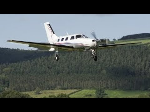 Fsx Полет в Сочи на Piper PA 46 Malibu,и заход на второй кру