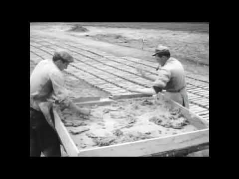 Historische Feldbrandziegelei. Ziegel brennen aus längst vergangenen Tagen.