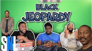 REACTING TO BLACK JEOPARDY: VELVET JONES - SNL