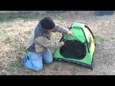 GearRat Outdoors: First look at the Alcott Explorer Pup Tent