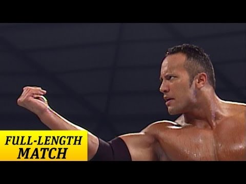 -LENGTH MATCH - SmackDown - The Rock vs Edge and Christian