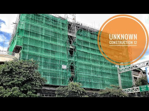 [4K]Unknown New Under Construction Building Rent Office 12 Cambodia
