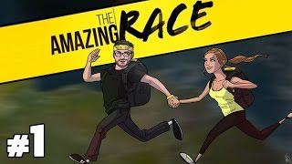 The Amazing Race Special Podcast with Burnie & Ashley #1 | Rooster Teeth