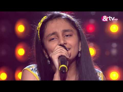 Kavya Limaye - Blind Audition - Episode 5 - August 06, 2016 - The Voice India Kids