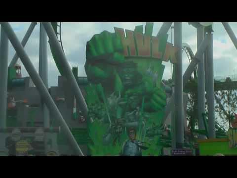 The Incredible Hulk Coaster - Islands of Adventure, Orlando, Florida 2008
