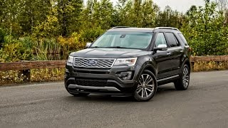 2016 Ford Explorer Platinum Car Review
