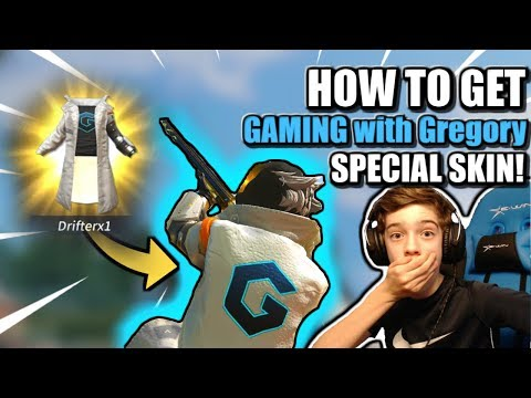 HOW To *WIN* The GAMING with Gregory Skin in ROS! // Extremely Rare Skin // Rules of Survival