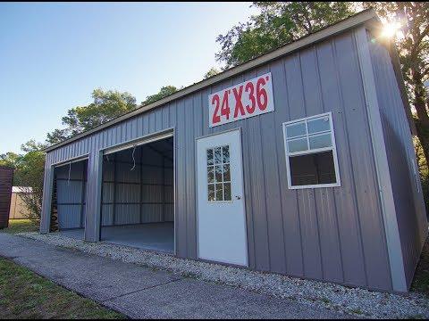 Steel Buildings from LD Buildings Jacksonville, FL
