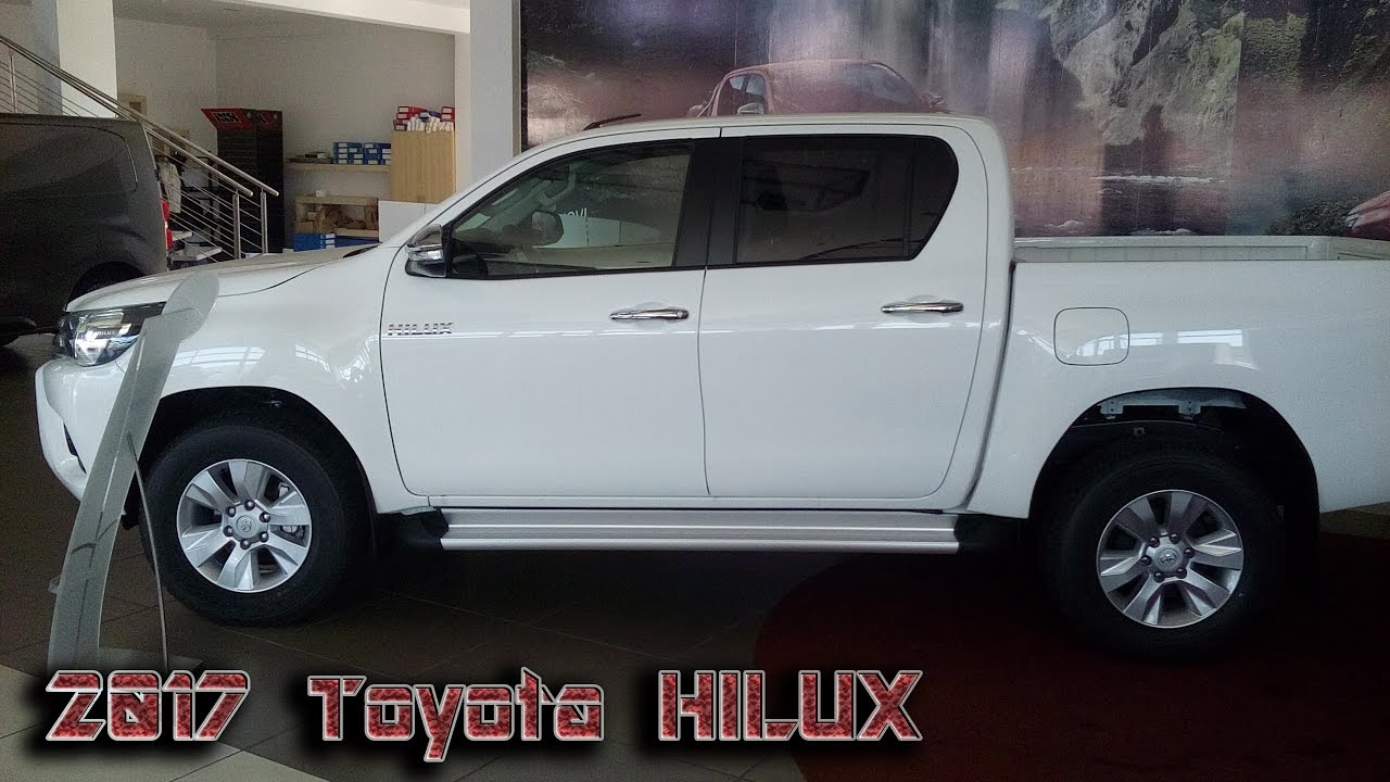 2017 toyota hilux 2.4 d-4d | review - youtube