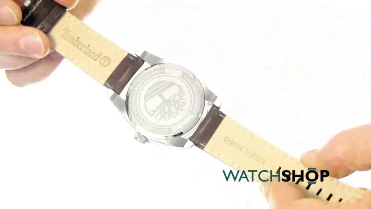 Timberland Men s Bolton Watch (14770JS 02) - YouTube fba678be1c