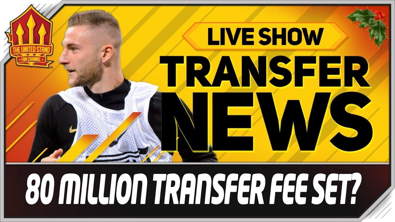 Man Utd Offered 80 Million Transfer Target! Man Utd Transfer News