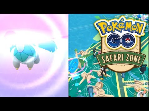 Tropius gefangen - Das war die Safari-Zone Yokosuka | Pokémon GO Deutsch #712