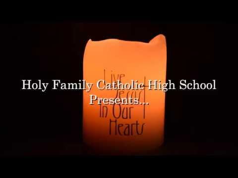Holy Family Catholic High School Thanksgiving Prayer 2017