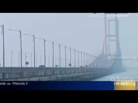 7 JEMBATAN ANGKER DI INDONESIA | On The Spot Trans 7 Terbaru 1 Maret 2018