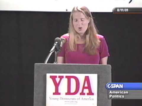 Kristin Gore August 2001 Young Democrats of America