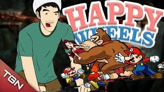 Happy Wheels: DONKEY KONG