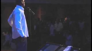 "Houston poet Se7en perfoms his smash hit single ""Stand Up"" a follow..."