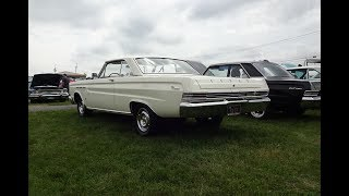 1965 Mercury Comet Cyclone in Polar White & 289 Engine Sound on My Car Story with Lou Costabile