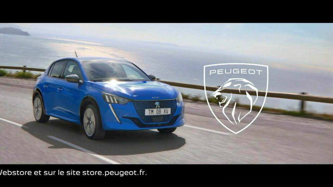 """Musique de la pub Peugeot e208 """"100% électrisante""""  Juin 2021"""